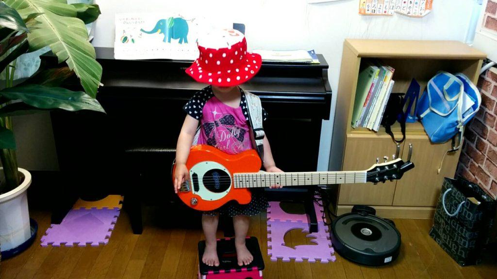 ギターお立ち台