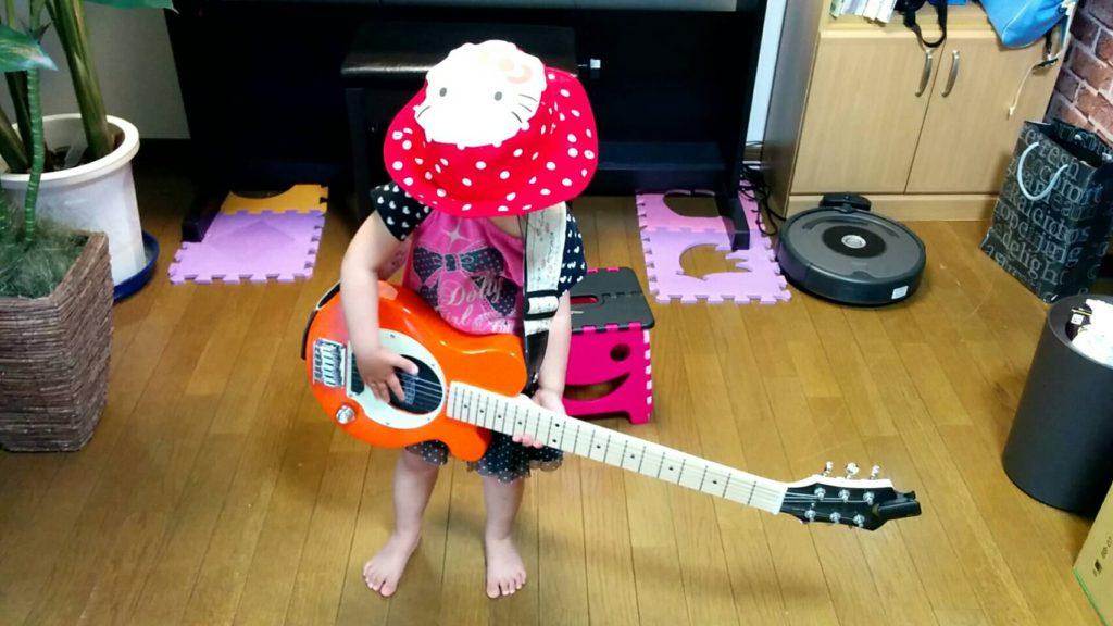 ギター立って弾く