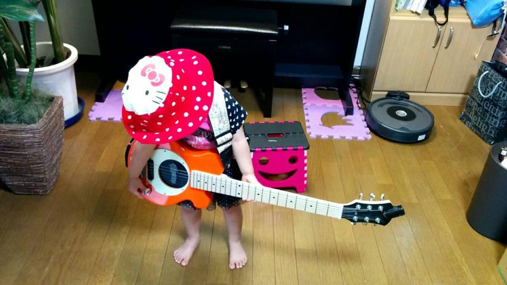 ギター音量調整