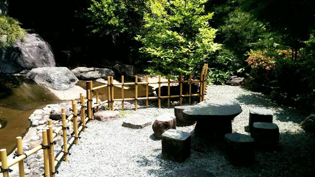 小春日和入口の庭