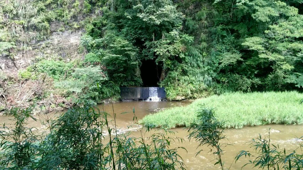 養老渓谷の川の2つめ