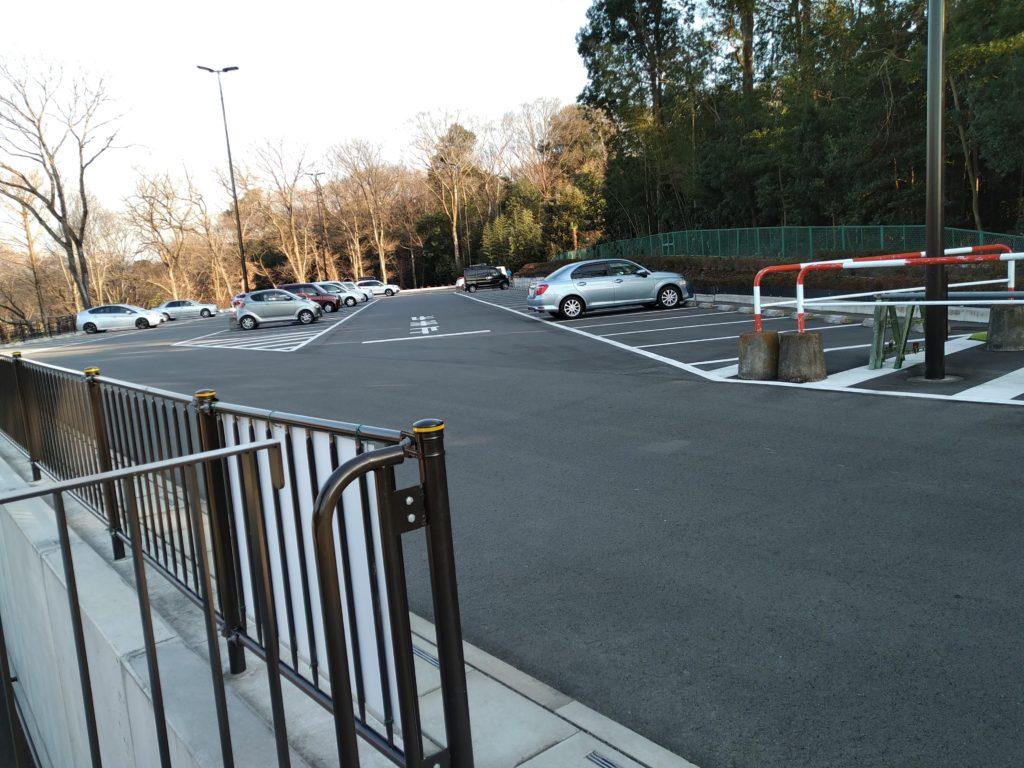 城山公園駐車場