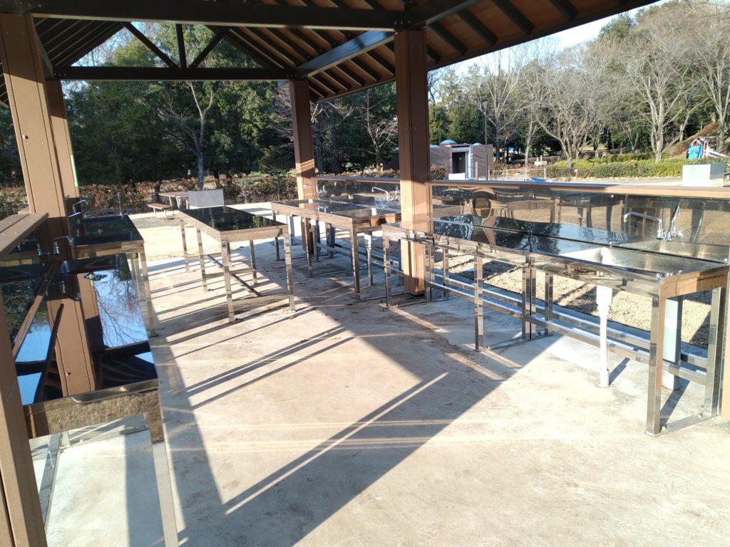 城山公園有料スペース水道